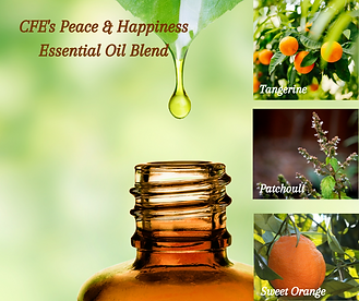 CFE's Peace & Happiness Essential Oil Bl