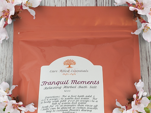 Tranquil Moments Relaxing Herbal Bath Salt