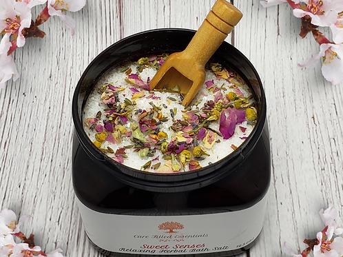 Sweet Senses Relaxing Herbal Bath Salts