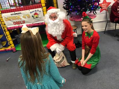 Santa an the Elves!