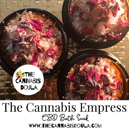The Cannabis Empress CBD Bath Soak