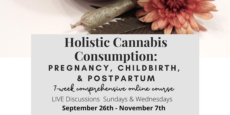 Holistic Cannabis Consumption: Pregnancy, Childbirth, & Postpartum LIVE Online Course