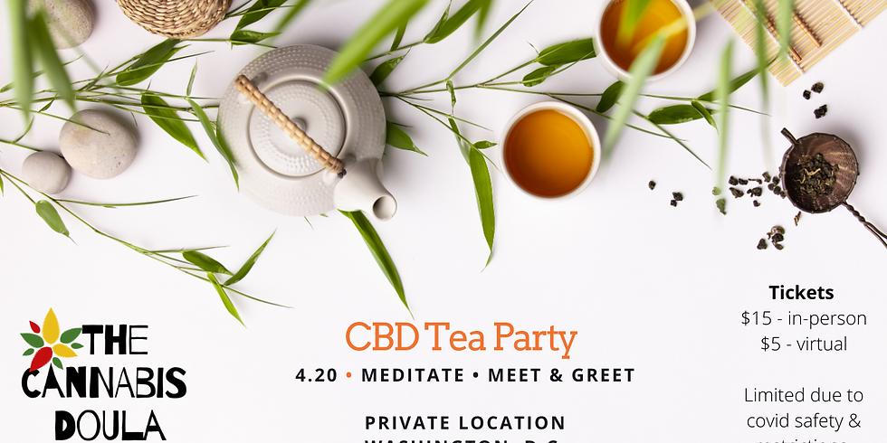 CBD Tea Party