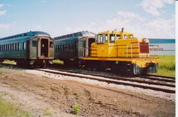 Coaches 29 & 85 and Locomotive 46