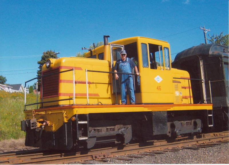 Engineer on Locomotive 46