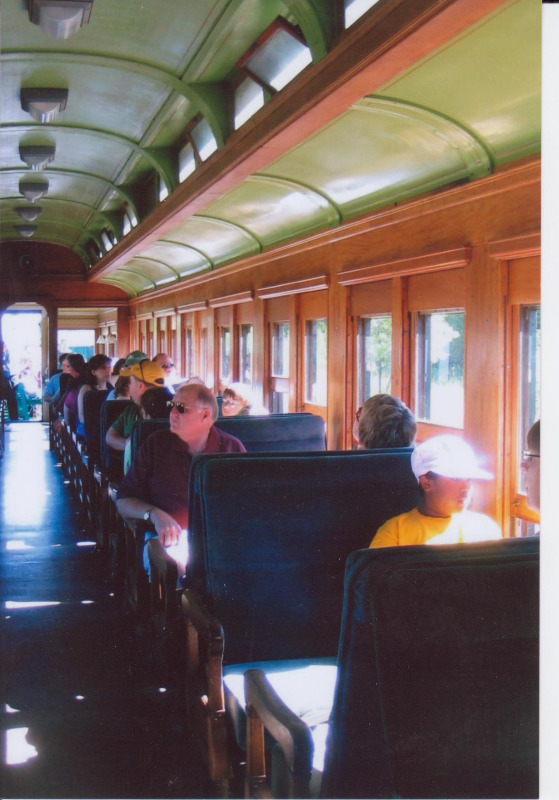 Interior of Coach 29