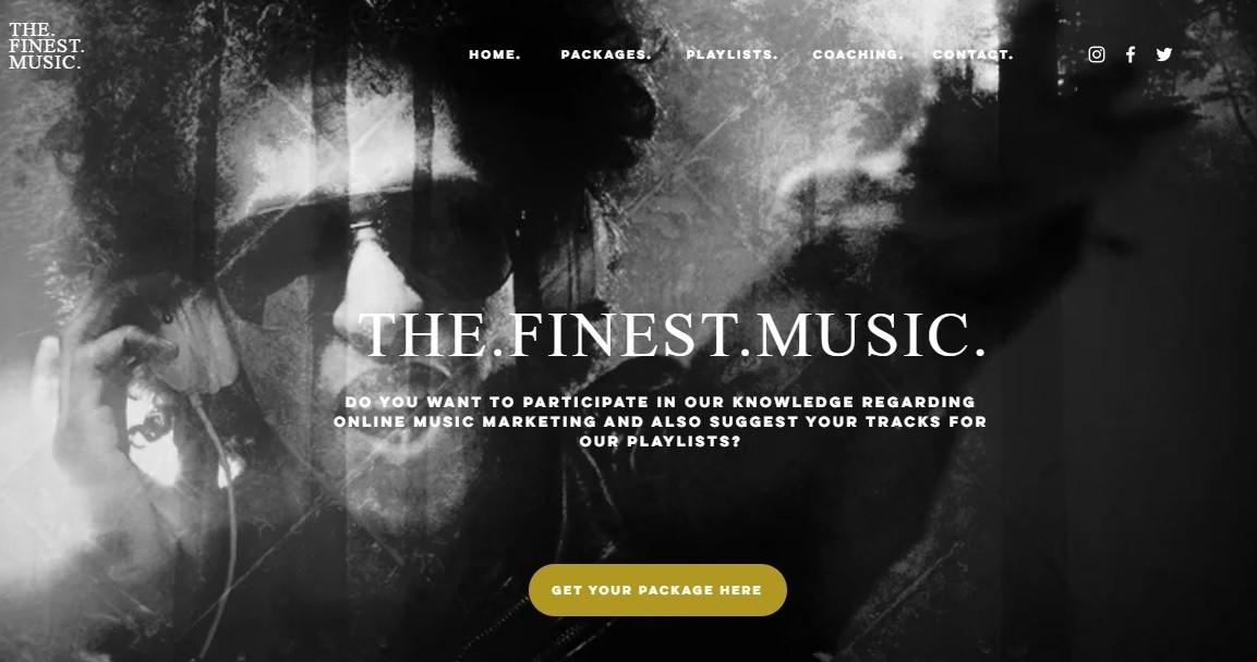 THE.FINEST.MUSIC. | Online Music Marketing