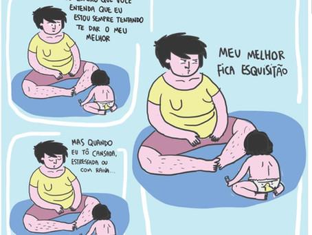 O polvo multitarefas e completamente altruísta chamado mãe