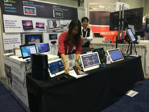 What you missed from GeChic Portable Monitors at CES 2015