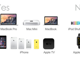 Which Apple device is compatible with GeChic?