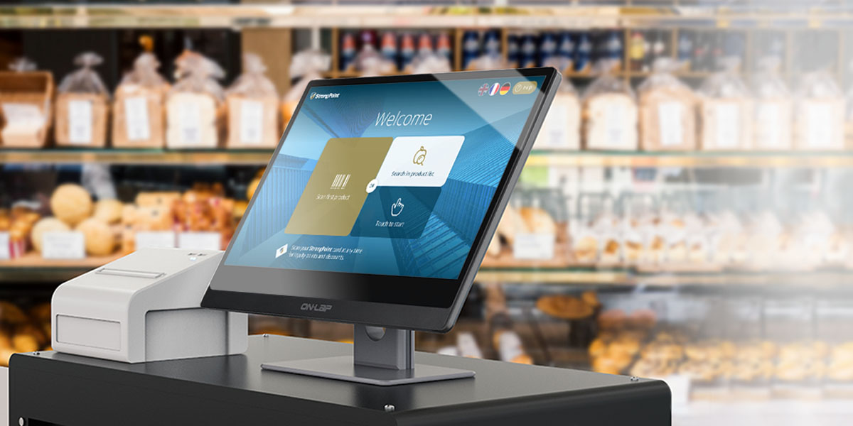 Self-Service Inquiry / Checkout Kiosk