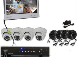 Surveillance DVR VGA Monitor