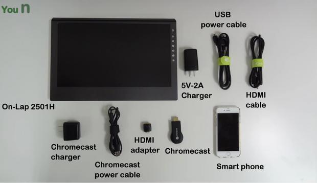 Comment utiliser Chromecast avec GeChic moniteurs?