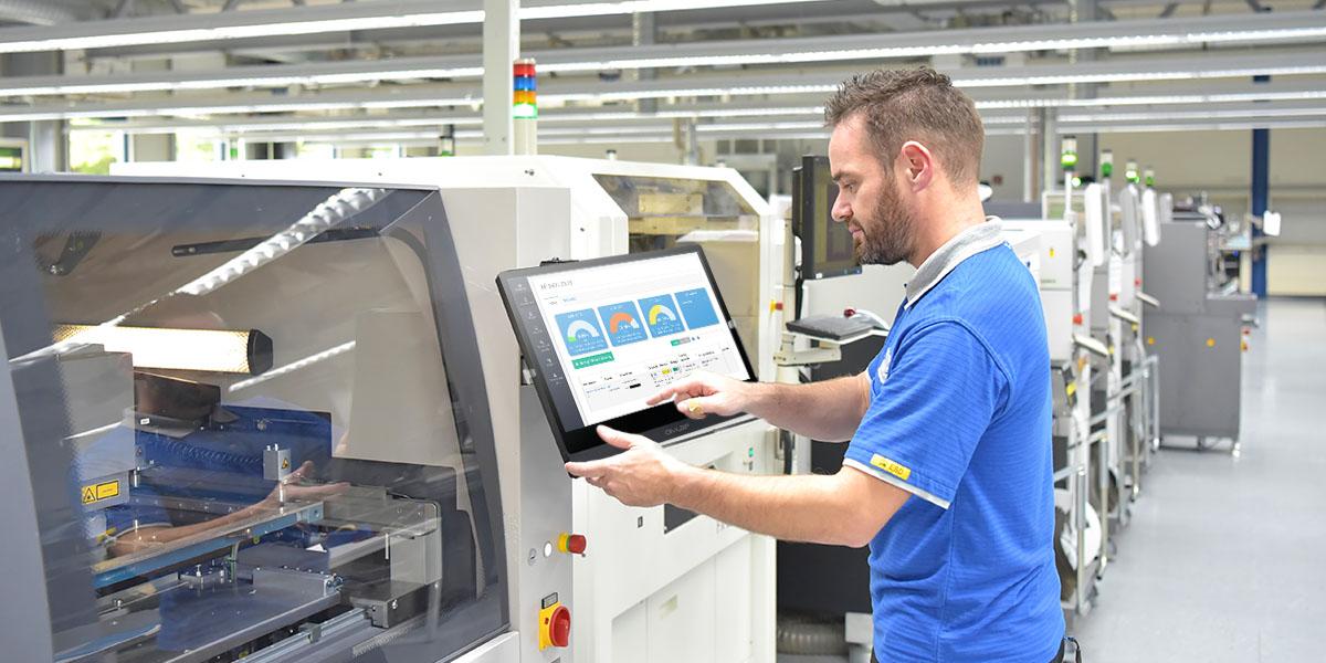 Système de surveillance d'usine