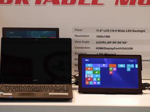 New portable monitor & gadgets introduced at Computex 2015