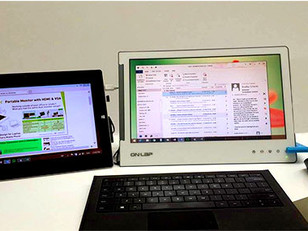 Use a 2nd Monitor as the Primary Screen for Your Netbook