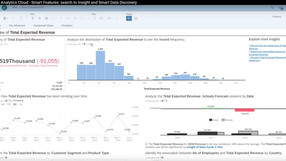 Smart Features: SAP Analytics Cloud starts analyzing for you