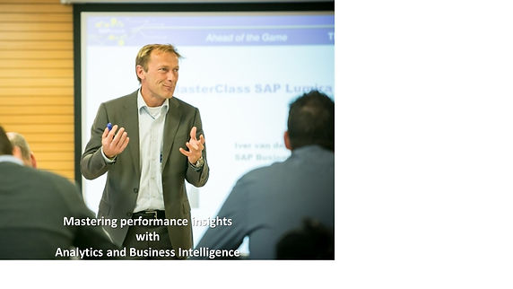 Passionate on business analytics & business intelligence - Iver van de Zand