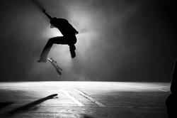 website man jumping