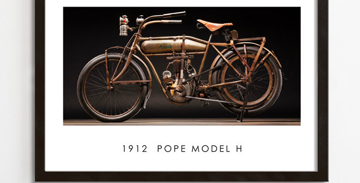 """1912 POPE  30""""x 20"""" Archival Poster"""