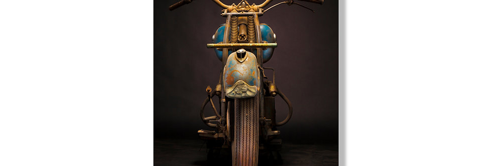 """33""""x 48"""" Limited Edition Aluminum Print 1946 Indian Chief"""