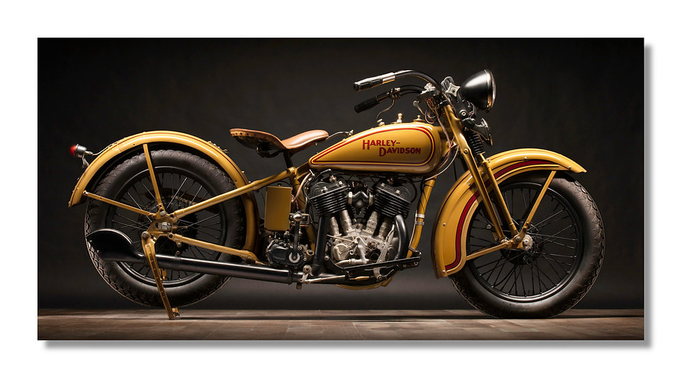 "20""x10"" Open Edition Aluminum Print  1930 Harley VC"