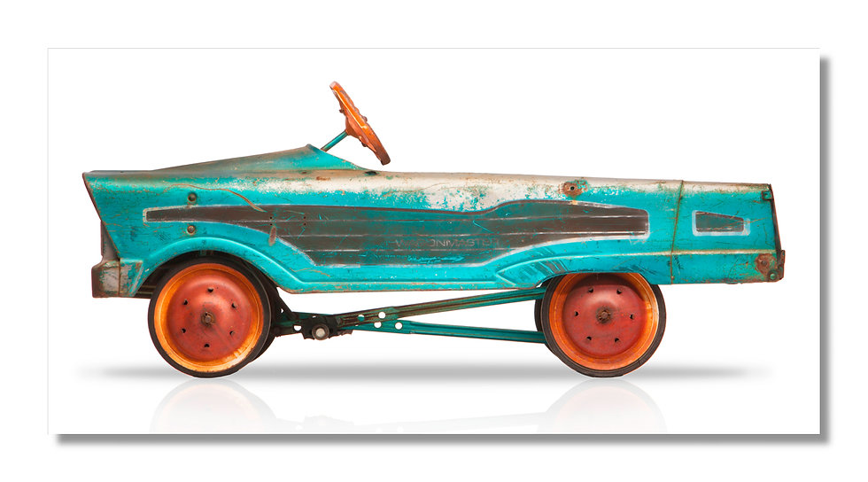 """96""""x 48"""" Limited Edition Aluminum Print  Wagonmster"""
