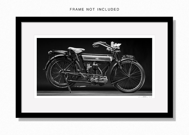 "1911 Triumph. Large 44""x 24""Limited edition print."