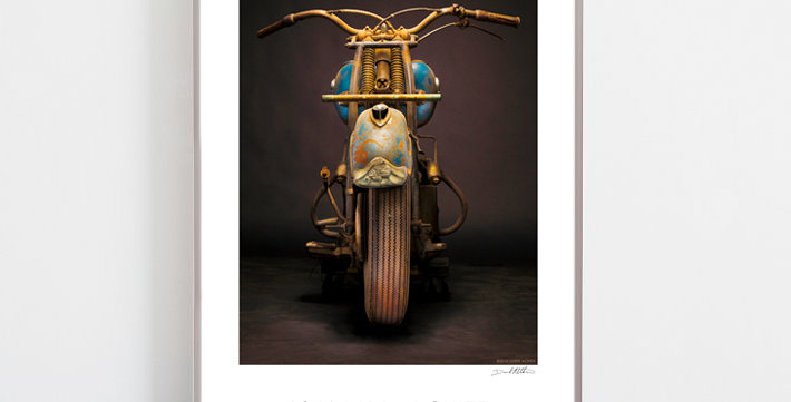 """1946 Indian Chief  """"The wounded Chief"""" 30""""x 20"""" Archival Poster"""