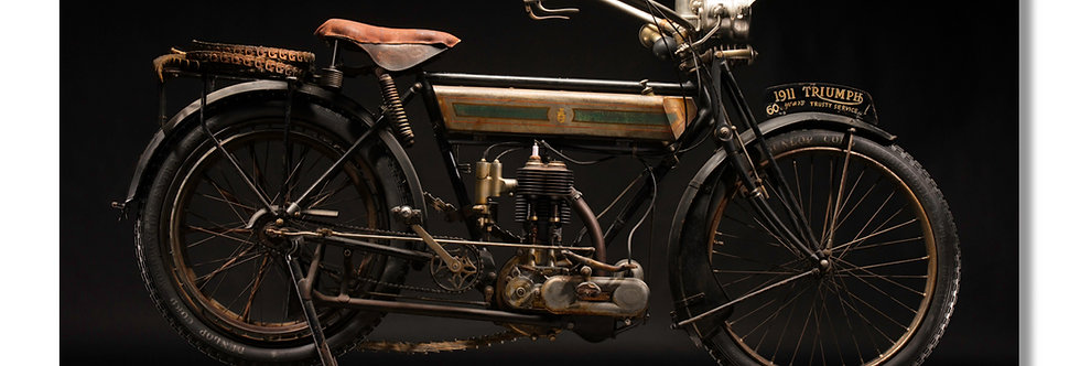"96""x 48"" Limited Edition Aluminum Print  1911 Triumph"