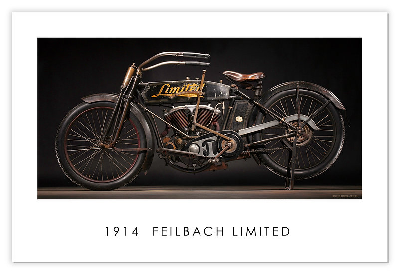 """1914 FEILBACH LIMITED 30""""x 20"""" Archival Poster"""