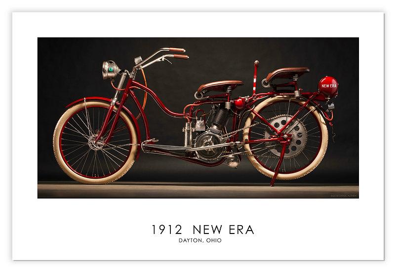 "1912 NEW ERA  30""x 20"" Archival Print."