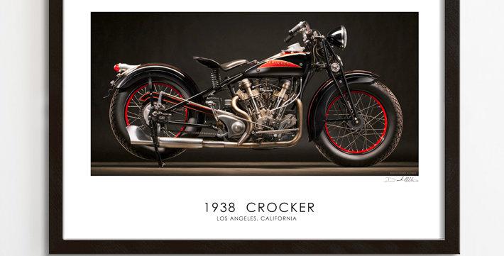 "1938 Crocker  30""x 20"" Archival Print."