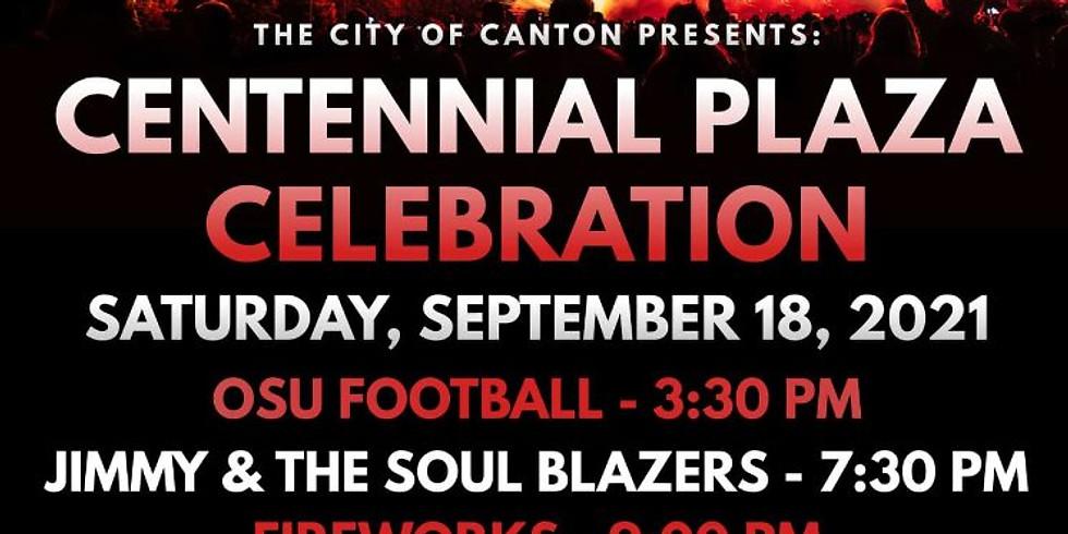 Canton Centennial Plaza Celebration