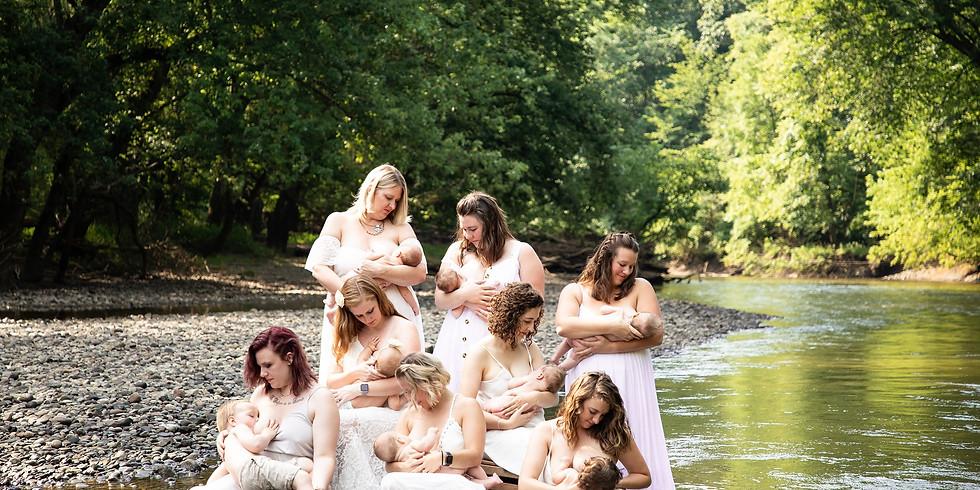 3rd Annual Breastfeeding Photoshoot