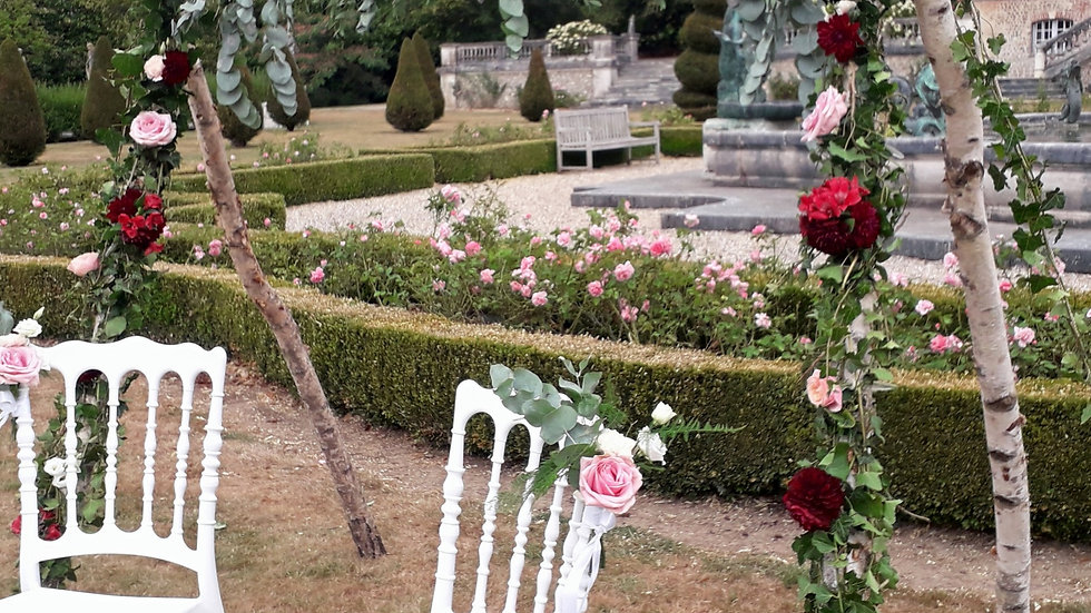 Arche de cérémonie - Bois de bouleau