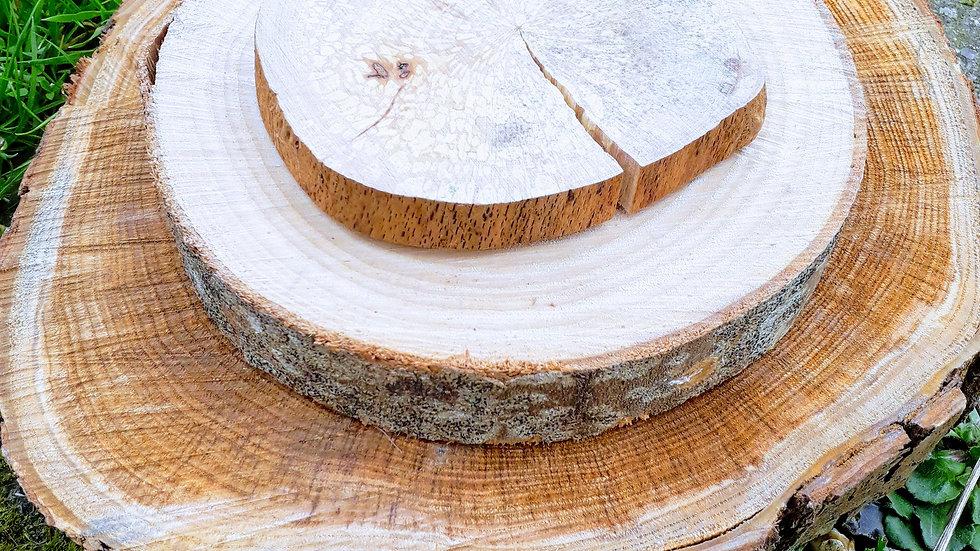 Tranches de bois