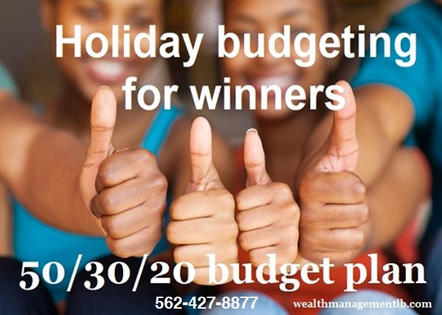 Holiday budgeting for winners.