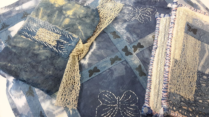 What to do with your Indigo Dyed Fabric