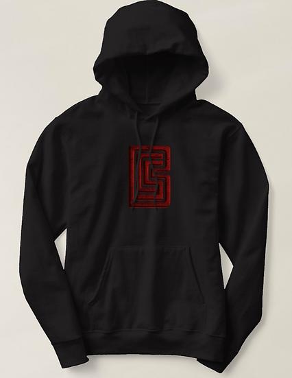 Red BCS Logo Hoodie