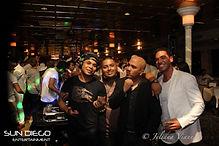 DJ Kaos,DJ Mark Cena and our event partn