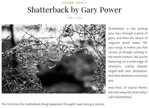 Shatterback hits the net!
