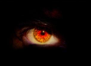 The Always Watching Eye - is watching you.