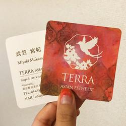 TERRA asian esthetic名刺