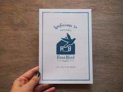 Free Bird フライヤー