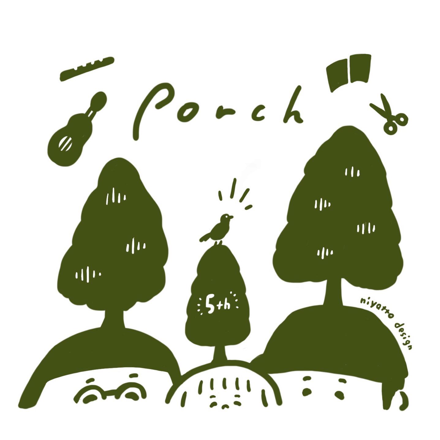 Porch 5周年記念グッズ