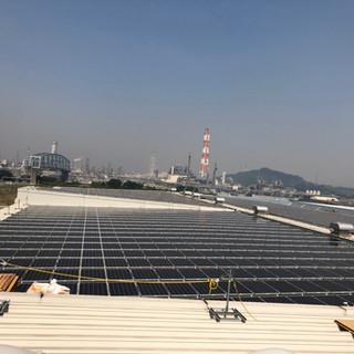 太陽光パネル設置事業部