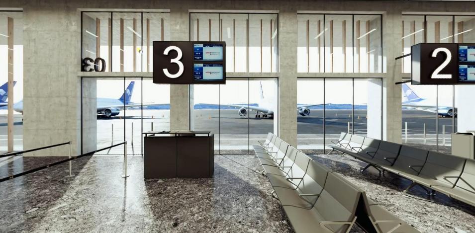 El aeropuerto de Aguascalientes se mantendrá con 4 puertas de abordaje