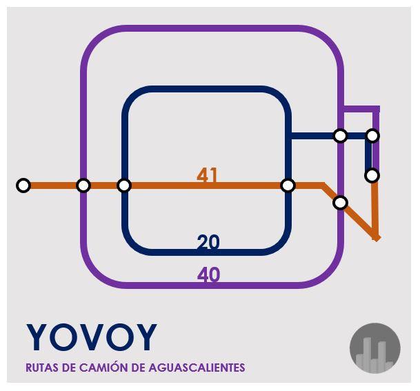 mapa yovoy transporte público aguascalientes