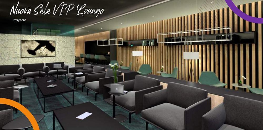 Sala VIP aeropuerto Aguascalientes